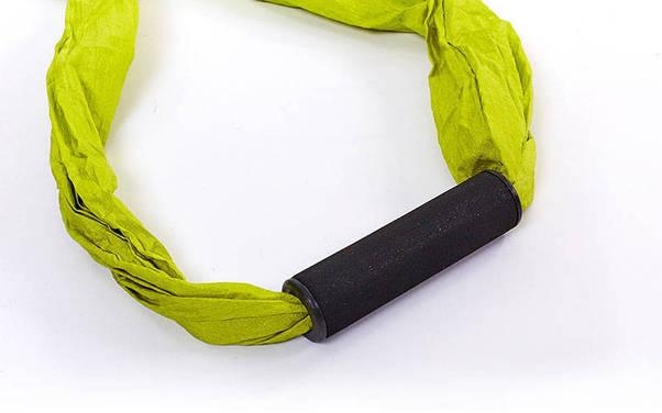 Гамак для йоги с ручками Antigravity Yoga (красный), фото 3