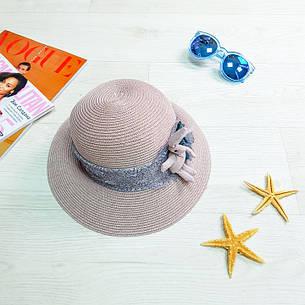 Шляпа детская с зайчиком розовая 502-05-1, фото 2