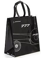 Оригинальная сумка Boeing 777 Midnight Silver Tote (Black)