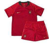 Детская футбольная форма сборной  Португалии (домашняя) 2018