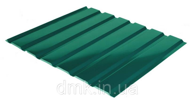 Профнастил С-18 RAL 6005 (зелёный) PE 0.45 фасад