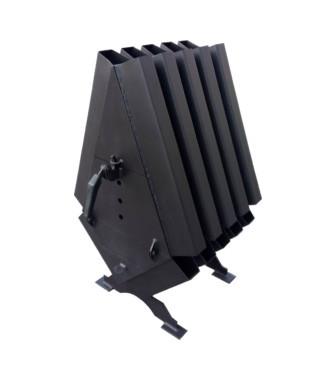 Твердотопливная печь Turbina 200 LuxTerm (сталь 4 мм)
