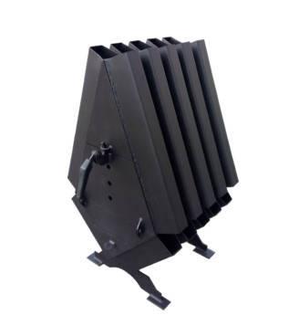 Твердотопливная печь Turbina 200 LuxTerm (сталь 4 мм), фото 2