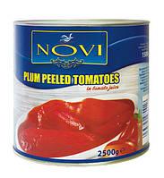 Помидоры очищенные Pomodori Pelati Novi 2,5 кг