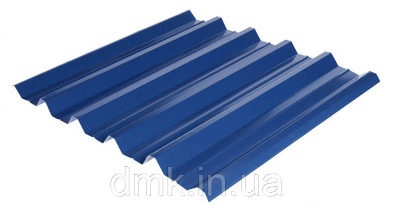 Профнастил НС-44 RAL 5005 (синий) PE 0.45 несущий