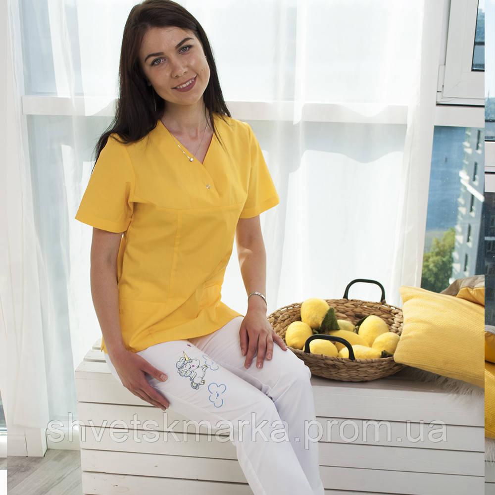 e4fd5d35c83 ... Медицинские джинсы с вышивкой
