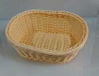 9784 Корзина для хлеба плетёная