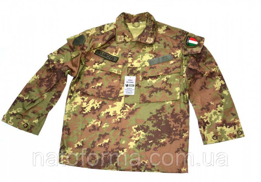 Летний комплект униформы армии Италии, Vegetato, оригинал (китель и брюки)