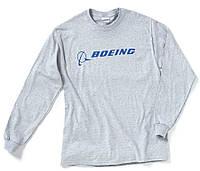 Оригинальный реглан Boeing Long Slv Signature T-shirt 1100100101880009 (Grey)