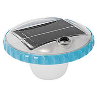 Лампа-поплавок для бассейна Intex 28695, плавающая подсветка на солнечной батарее
