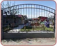 Забор металлический (кованый)