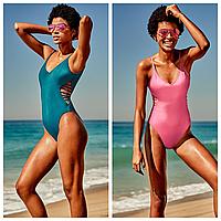 Модный закрытый купальник XS оригинал Victorias Secret купальники Виктория Сикрет