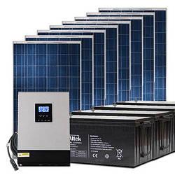 Гибридная станция для Зеленого тарифа и автономии объекта на 4 кВт