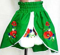 Детская вышитая юбка 4 цвета, 2-12 лет, фото 1