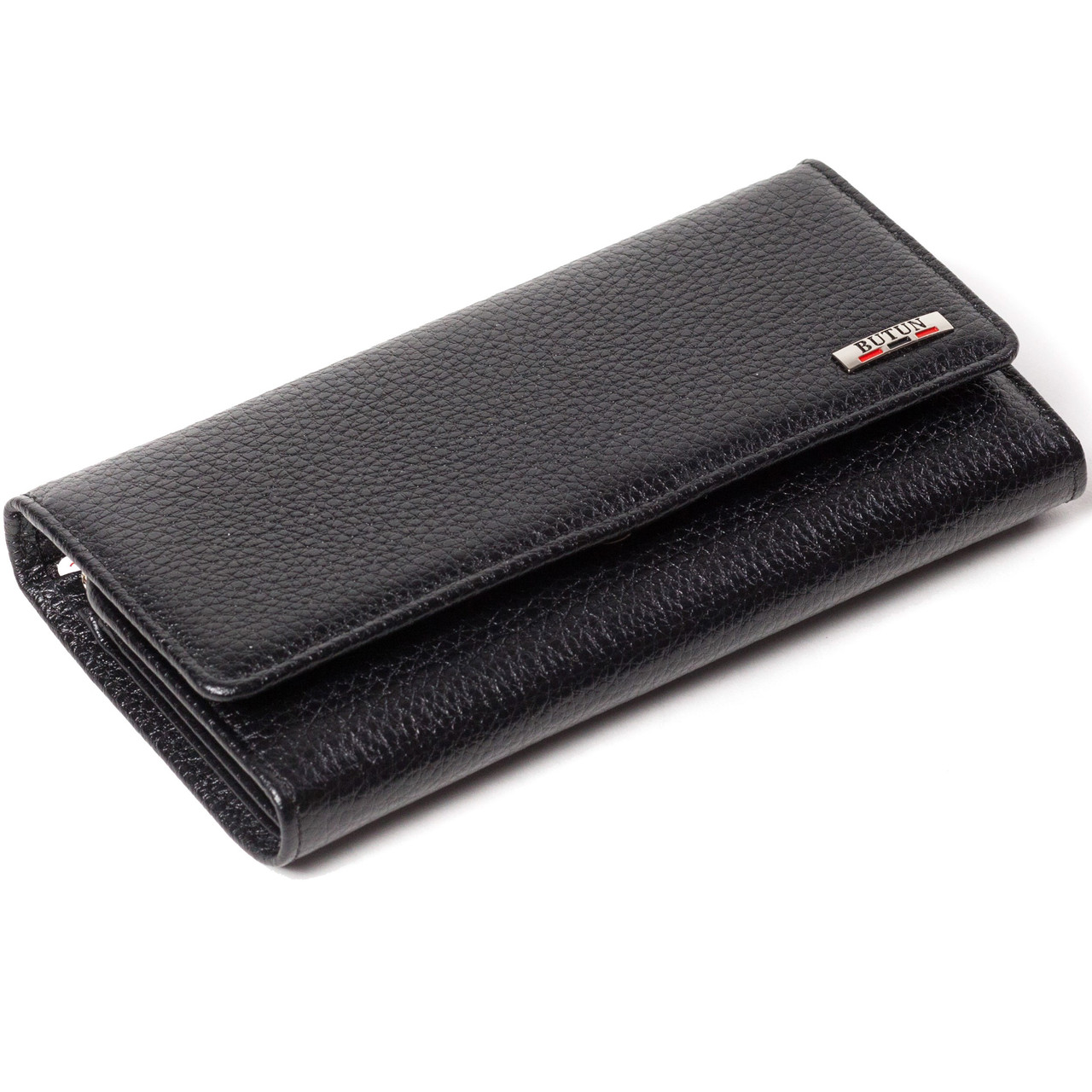 Женский кошелек кожаный черный BUTUN 555-004-001