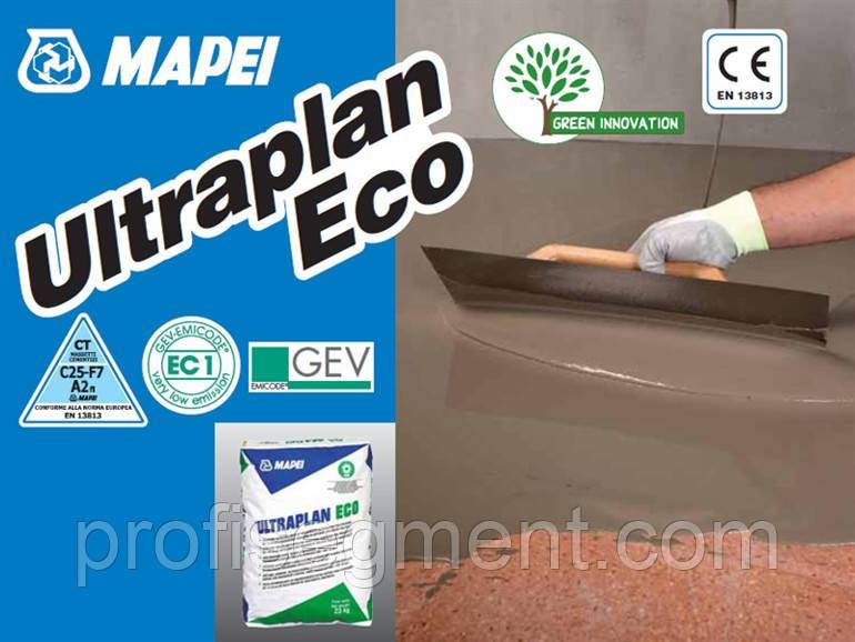 Самовирівнююча суміш для наливних підлог (нівелірмасса) Mapei ULTRAPLAN ECO 23 кг,Харків