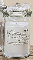 Декоративная свеча Любовь