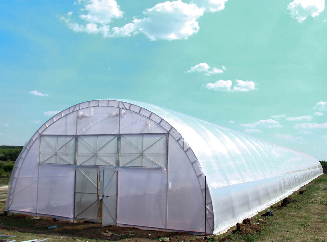 Арочная фермерская теплица под пленку 10х80 ( шаг 2,5) Фермер Профи