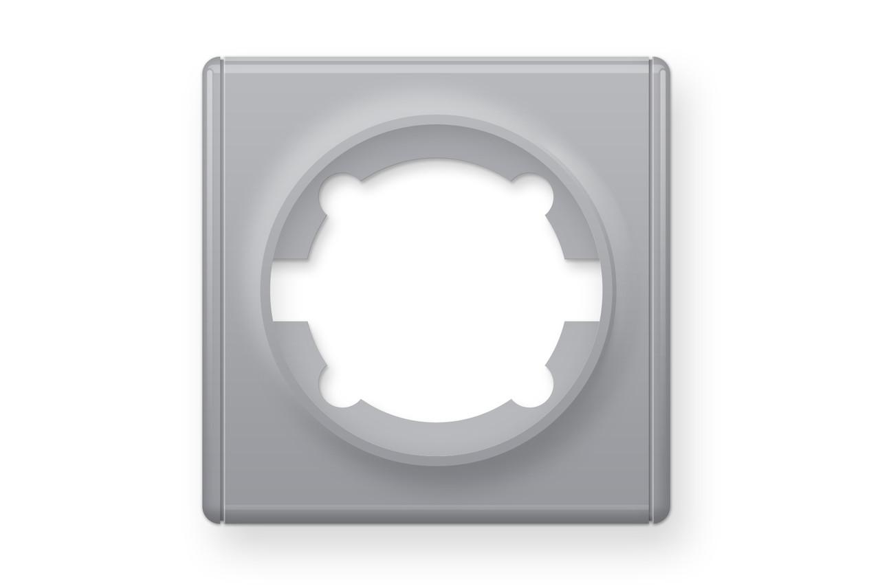 Рамка одинарна, колір сірий (серія Florence)