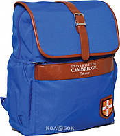 Рюкзак подростковый 1 Вересня CA071 Cambridge голубой