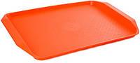 Поднос пластиковый с ручками для сервировки в фаст фудах 400*300*20 мм (шт)