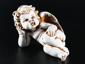 Фигурка гипсовая Ангелочек Пупс