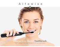 Alfawise S100 Sonic Electric Toothbrush Black Звуковая электрическая зубная щетка, фото 9