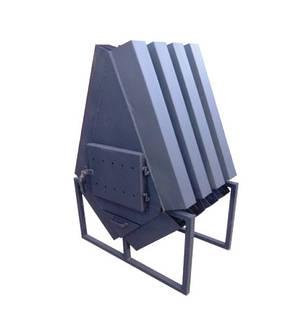 Печь для отопления склада Konvektor-1000 (сталь 4 мм), фото 2