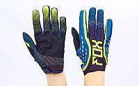 Кроссовые перчатки текстильные FOX BC-4829-4