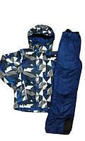 Комплект лыжный термо осенний: куртка и комбинезон 134-140 рост. Германия