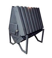 Печь для большого гаража, СТО Konvektor-1500 (сталь 4 мм)