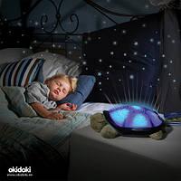 Світильник, бра, проектор зоряного неба «Черепаха»