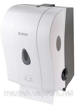Полуавтоматический диспенсер бумажных полотенец в рулонах Maggio белый
