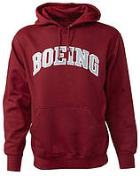 Толстовка Boeing Varsity Pullover Hooded Sweatshirt (Crimson)