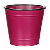 Горшок для цветов 1,5 л. розовый
