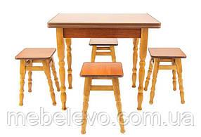 Кухонный комплект стол + 4 табурета D3   Кабаре ТМ Richman
