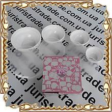 Набор 4 пр. судков с крышкой Японская вишня (61122) стеклокерам. 30054