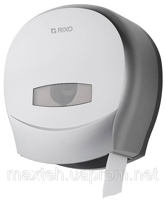 Держатель туалетной бумаги Джамбо Grande серебристый