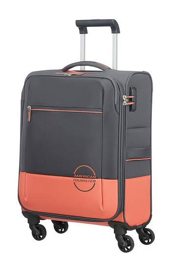 Маленький текстильный чемодан на 4-х колесах American Tourister Instago