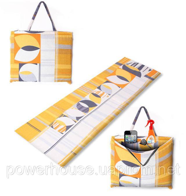 """Коврик-сумка """"HOLIDAY"""" на молнии, голландия, 1048-hol"""