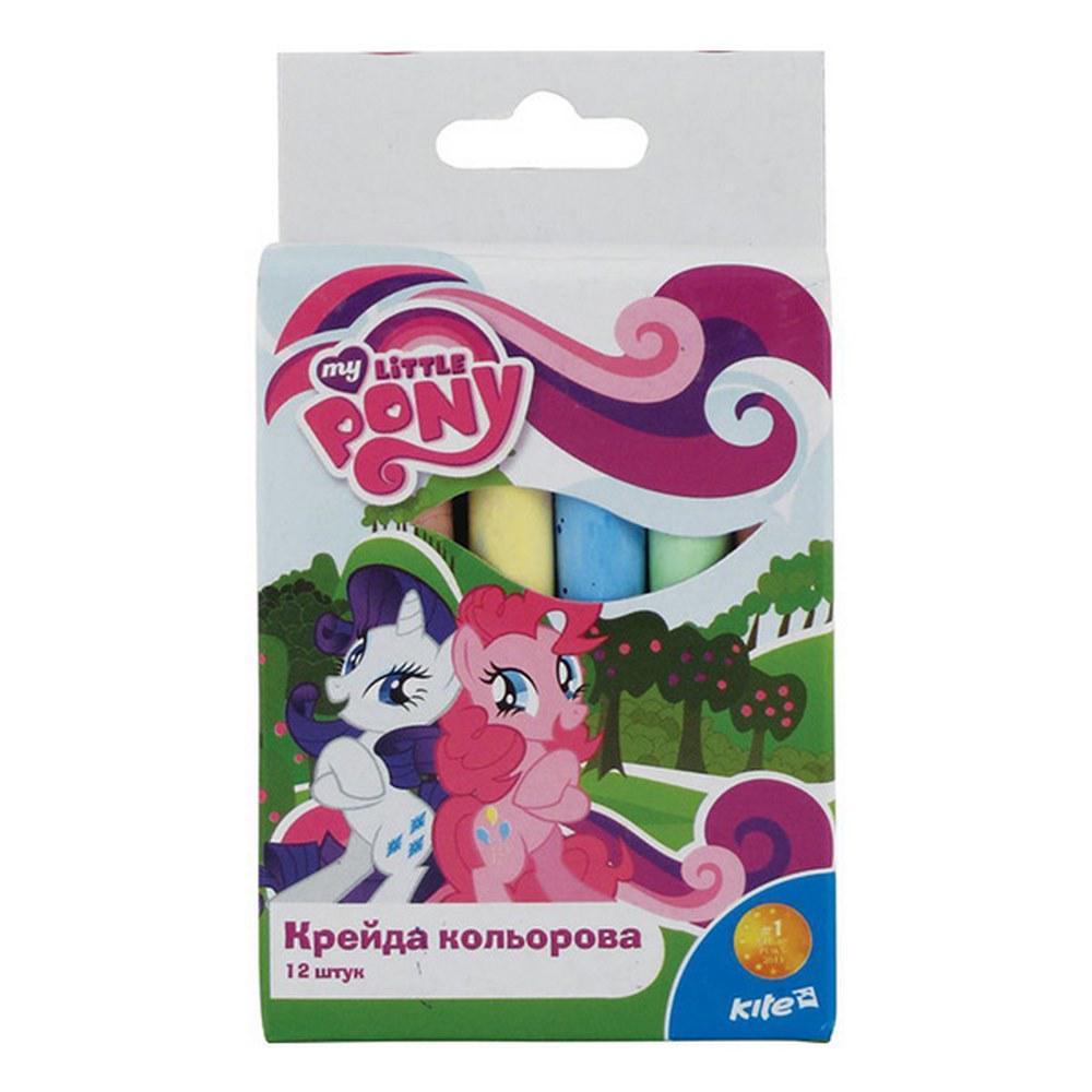 Крейда кольорова, Kite My Little Pony 12 кольорів, в коробці
