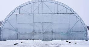Фермерская большая теплица под пленку 10х50 (шаг 2,5 м) Фермер Профи