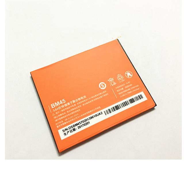 Аккумулятор BM45 BM 45 3020mAH Xiaomi Redmi Note 2 Hongmi Redrice Note