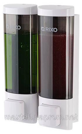 Дозатор жидкого мыла Lungo 2*200 мл. Италия