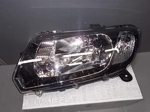 Фара левая  LOGAN II / SANDERO II (260601236R) Renault