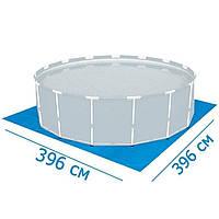 Подстилка для бассейнов Bestway 58002 396 х 396 см , фото 1