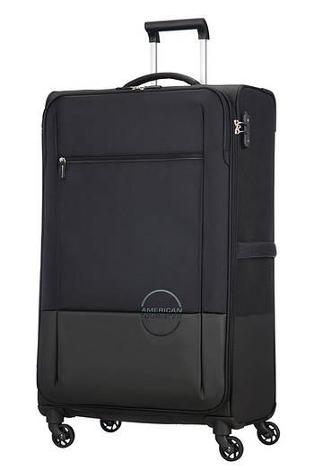 Большой текстильный чемодан на 4-х колесах American Tourister Instago