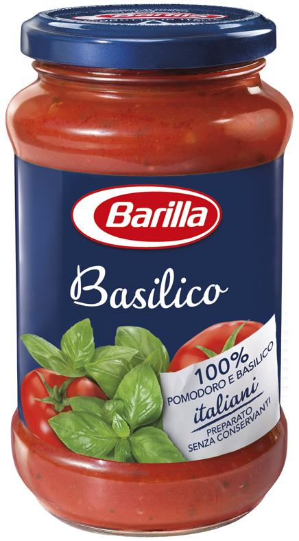 Соус Barilla *Basilico 400г, 6 шт/ящ