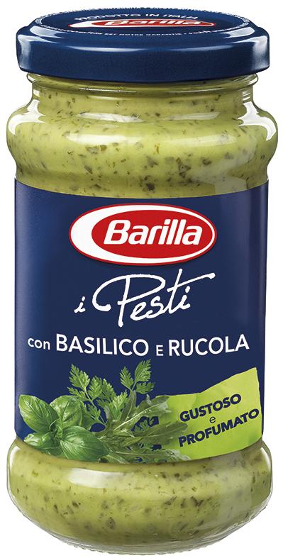Соус Pesto BARILLA Basilico e Rucola, 190г, 12шт/ящ