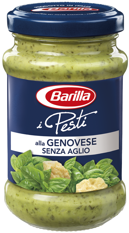 Соус Pesto BARILLA alla Genovese senza Aglіo, 190г, (12шт)